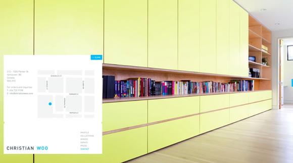 22个创意的网站建设联系方式页面设计案例